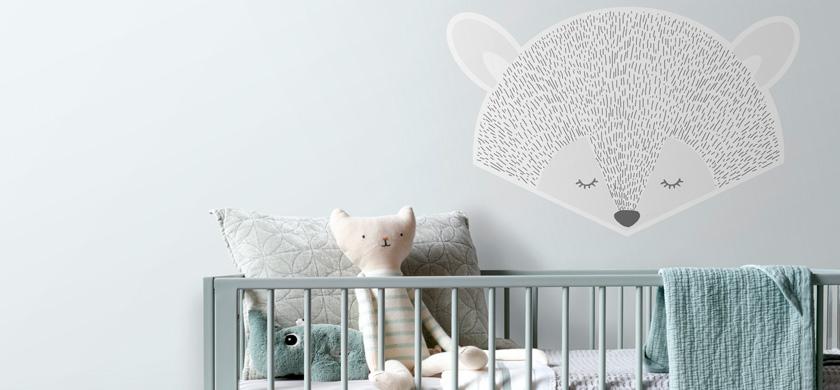 mural decorativo autoadhesivo para bebés