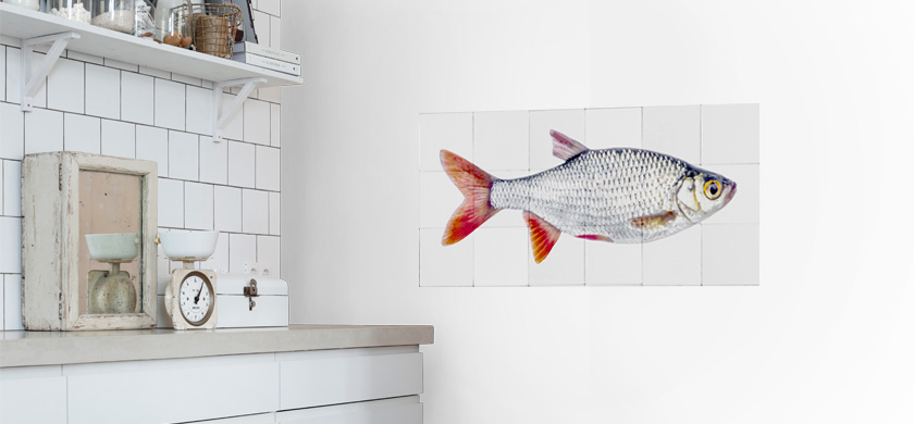 murales autoadhesivos para la cocina