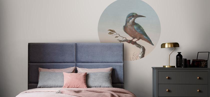 murales autoadhesivos para el dormitorio