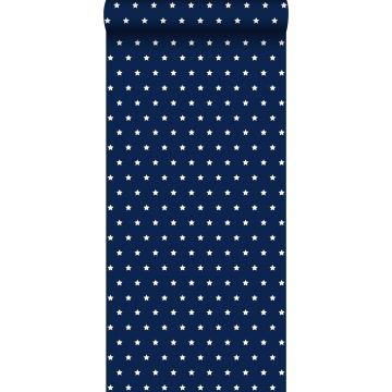 papel pintado estrellas azul marino de ESTA home