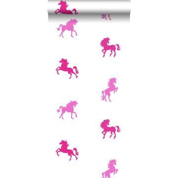papel pintado caballos rosa de ESTA home