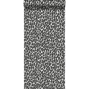 papel pintado pantera negro y blanco de ESTA home