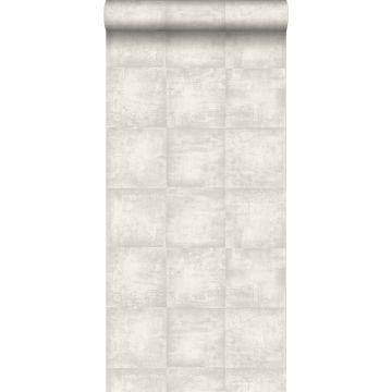 papel pintado hormigón gris claro de ESTA home