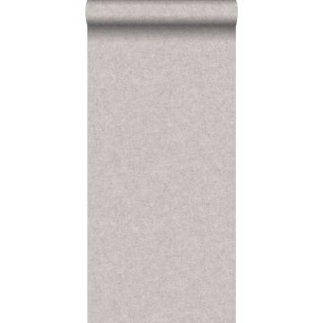 papel pintado liso efecto hormigón gris cálido de ESTA home