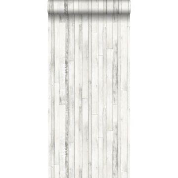 papel pintado madera de desecho blanco antiguo de ESTA home