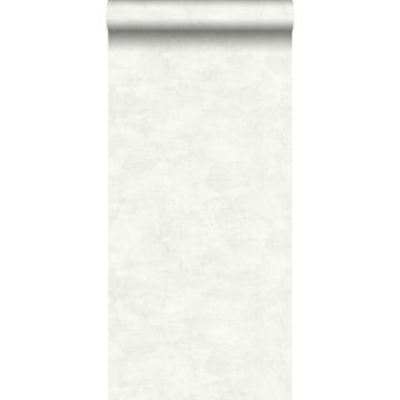 papel pintado efecto hormigón gris claro cálido y blanco mate de ESTA home