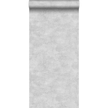 papel pintado efecto hormigón beige crema claro de ESTA home