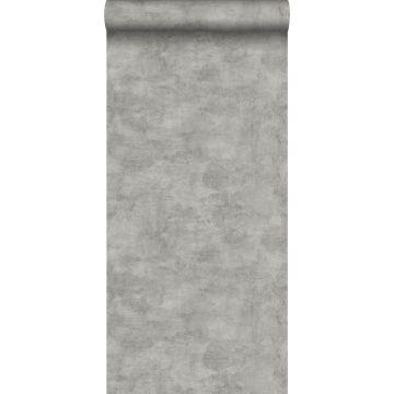 papel pintado efecto hormigón gris cálido de ESTA home