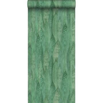 papel pintado hojas jade verde de ESTA home