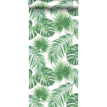 papel pintado hojas tropicales verde de ESTA home
