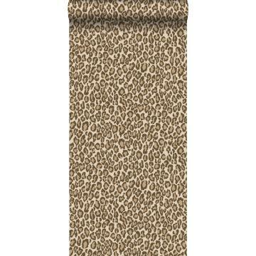 papel pintado piel de leopardo marrón de ESTA home