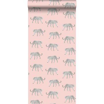 papel pintado pantera rosa suave de ESTA home