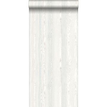 papel pintado madera blanco de ESTA home
