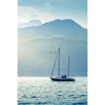 fotomural velero azul de ESTA home