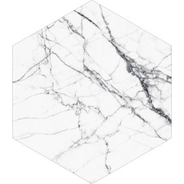 mural decorativo autoadhesivo marmol blanco y negro de ESTA home