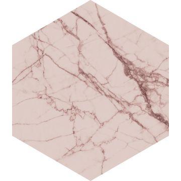 mural decorativo autoadhesivo marmol rosa gris de ESTA home