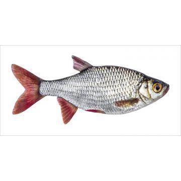 mural decorativo autoadhesivo pez gris y rojo de ESTA home