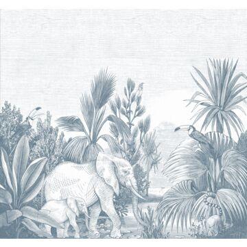 fotomural jungla azul de ESTA home