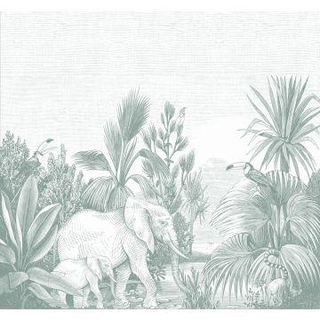 fotomural jungla verde de ESTA home