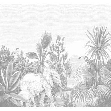 fotomural jungla gris de ESTA home