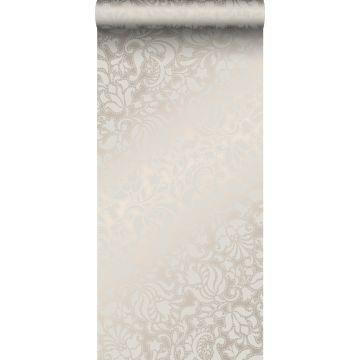 papel pintado encaje plata de Origin