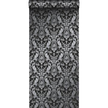 papel pintado adorno negro de Origin