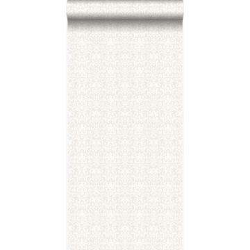 papel pintado adorno blanco y gris claro de Origin