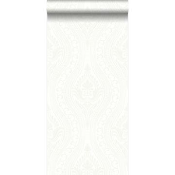 papel pintado adorno blanquecino de Origin