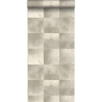 papel pintado textura de piel de animal beige de Origin