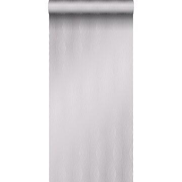papel pintado diseño gráfico gris morado claro brillante de Origin