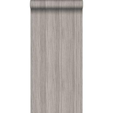 papel pintado rayado gris morado claro brillante de Origin