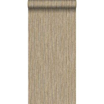 papel pintado bamboo marrón claro de Origin