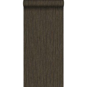 papel pintado bamboo marrón de Origin