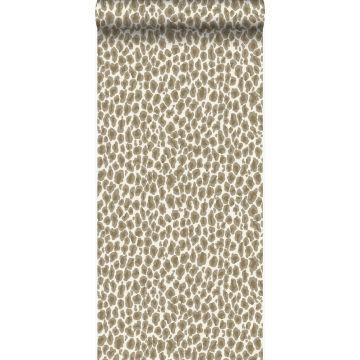 papel pintado piel de leopardo beige de Origin