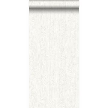 papel pintado tablas de madera de desecho recuperada desgastada resistida vintage blanco crema de Origin