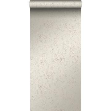 papel pintado placa de metal corroída desgastada, alterada y resistida plata cálido de Origin