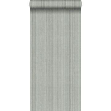 papel pintado estructura tejida gris de Origin