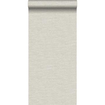 papel pintado efecto lino beige claro de Origin