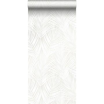 papel pintado hojas de palmera blanco de Origin