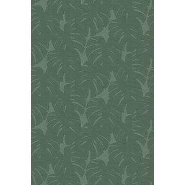 fotomural hojas con estructura tejida verde de Origin