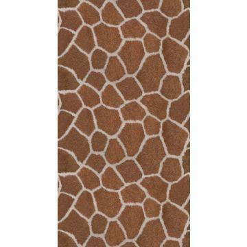 fotomural imitacion piel de jirafa marrón de Origin