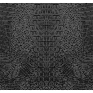 fotomural piel de cocodrilo negro de Origin